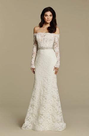 Sheath Wedding Dress by Tara Keely - Image 1
