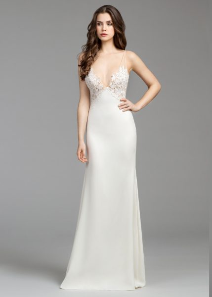Sheath Wedding Dress by Tara Keely - Image 1
