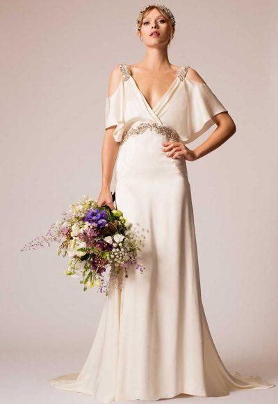 Classic A-line Wedding Dress by Temperley London