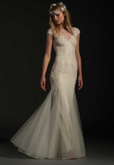 Classic Fit And Flare Wedding Dress by Temperley London
