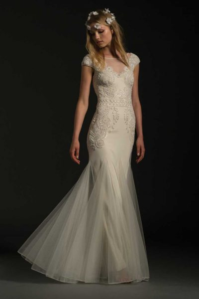 Classic Fit And Flare Wedding Dress by Temperley London - Image 1