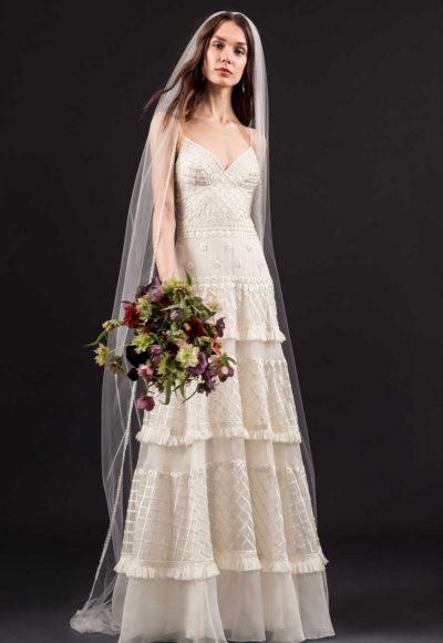 Modern A-line Wedding Dress by Temperley London