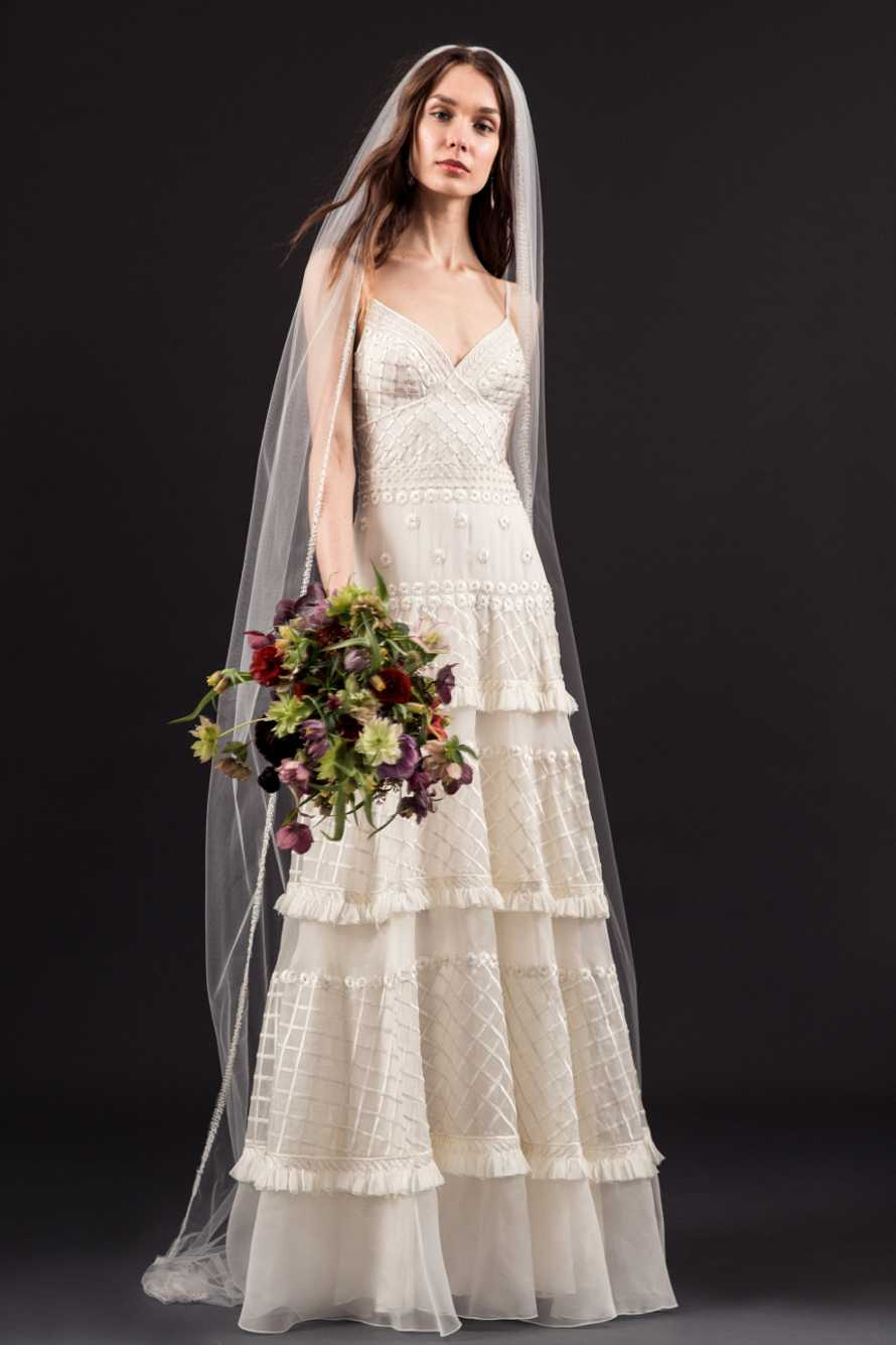 Modern A Line Wedding Dress By Temperley London Image 1 Zoomed In