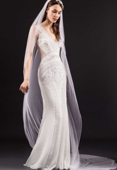 Sheath Wedding Dress by Temperley London