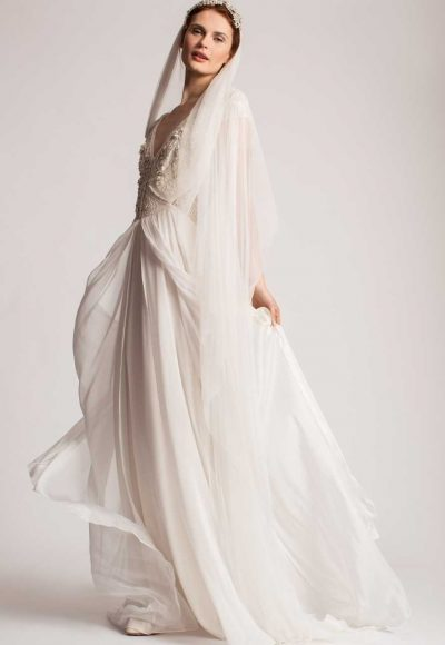 Simple A-line Wedding Dress by Temperley London