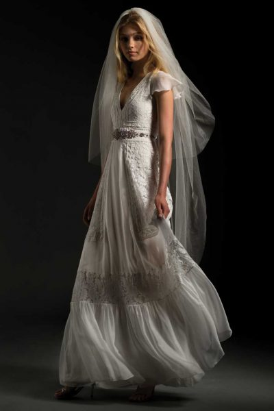 Simple A-line Wedding Dress by Temperley London - Image 1