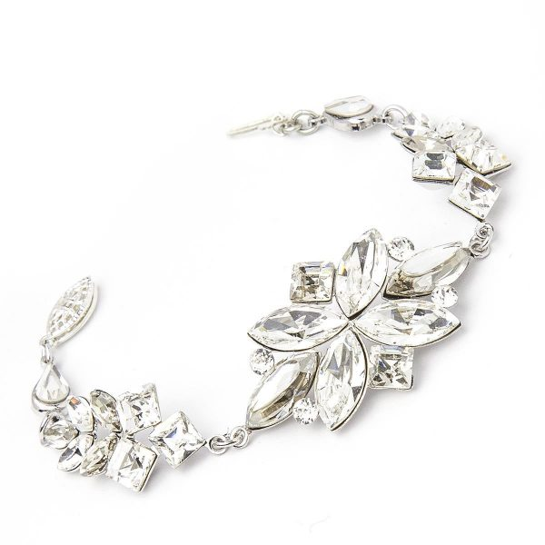 Crystal Bracelet In Silver by Thomas Knoell - Image 1