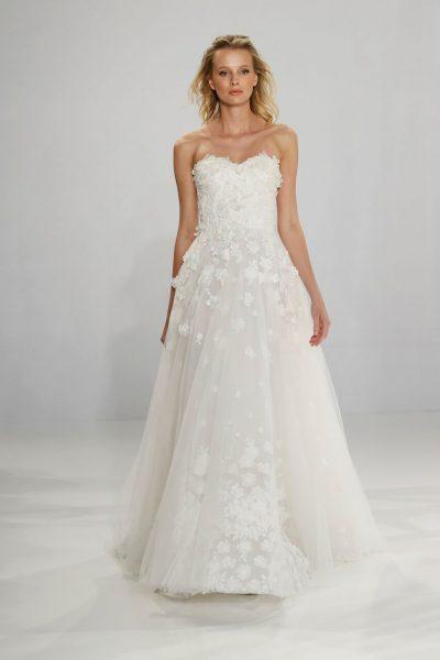 A-Line Wedding Dress by Tony Ward - Image 1