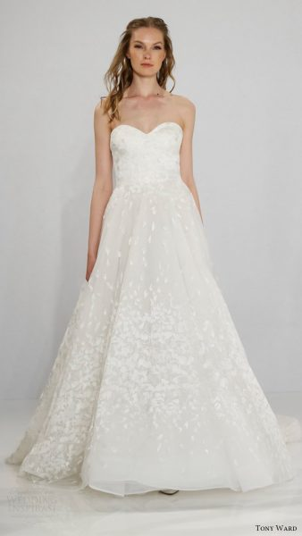 A-Line Wedding Dress by Tony Ward - Image 1