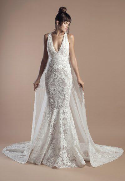 Classic Mermaid Wedding Dress by Tony Ward