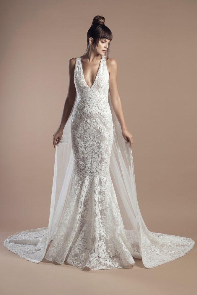 Classic Mermaid Wedding Dress by Tony Ward - Image 1
