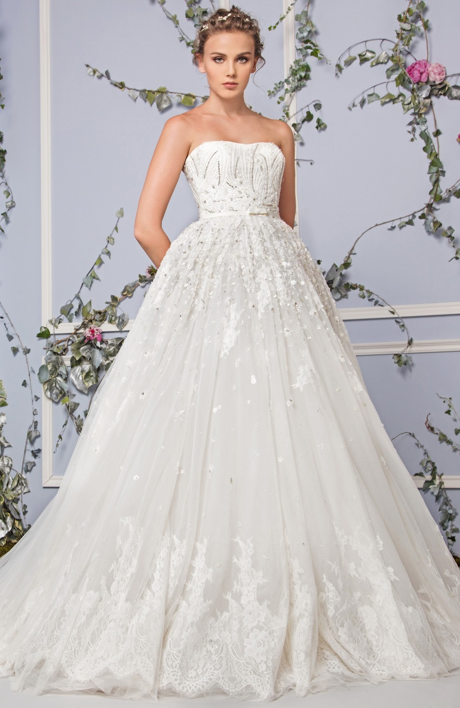 COUTURE Classic A-line Wedding Dress   Kleinfeld Bridal