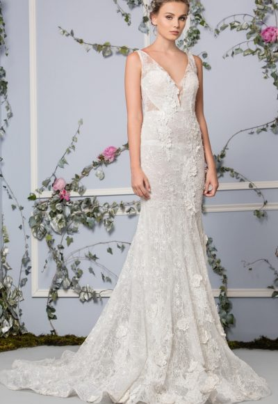 Fit And Flare Wedding Dress by Tony Ward