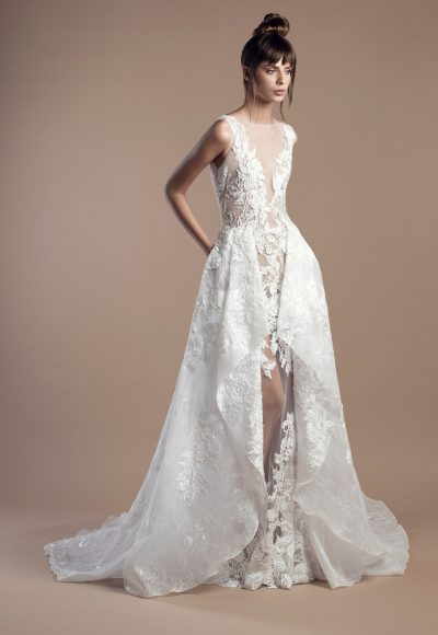 Modern A-line Wedding Dress by Tony Ward