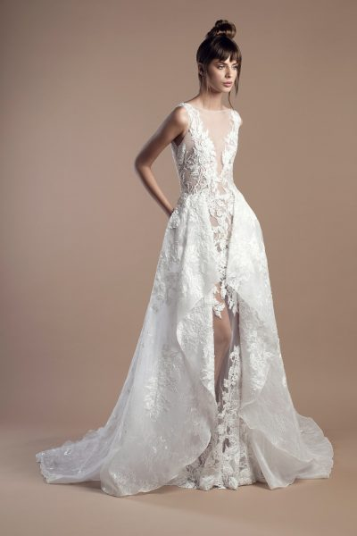 Modern A-line Wedding Dress by Tony Ward - Image 1