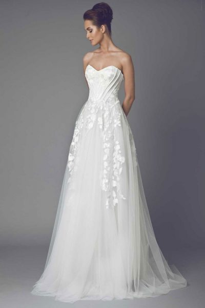 Romantic A-line Wedding Dress by Tony Ward - Image 1