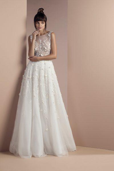 Romantic A-line Wedding Dress by Tony Ward - Image 1