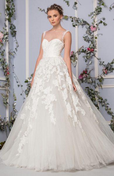 Romantic Ball Gown Wedding Dress by Tony Ward - Image 1