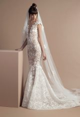 Romantic Fit And Flare Wedding Dress by Tony Ward - Image 1