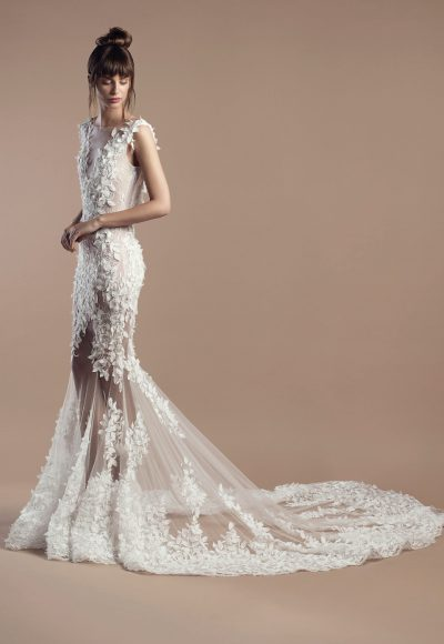 Romantic Fit And Flare Wedding Dress by Tony Ward