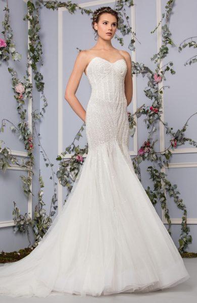 Romantic Mermaid Wedding Dress by Tony Ward - Image 1