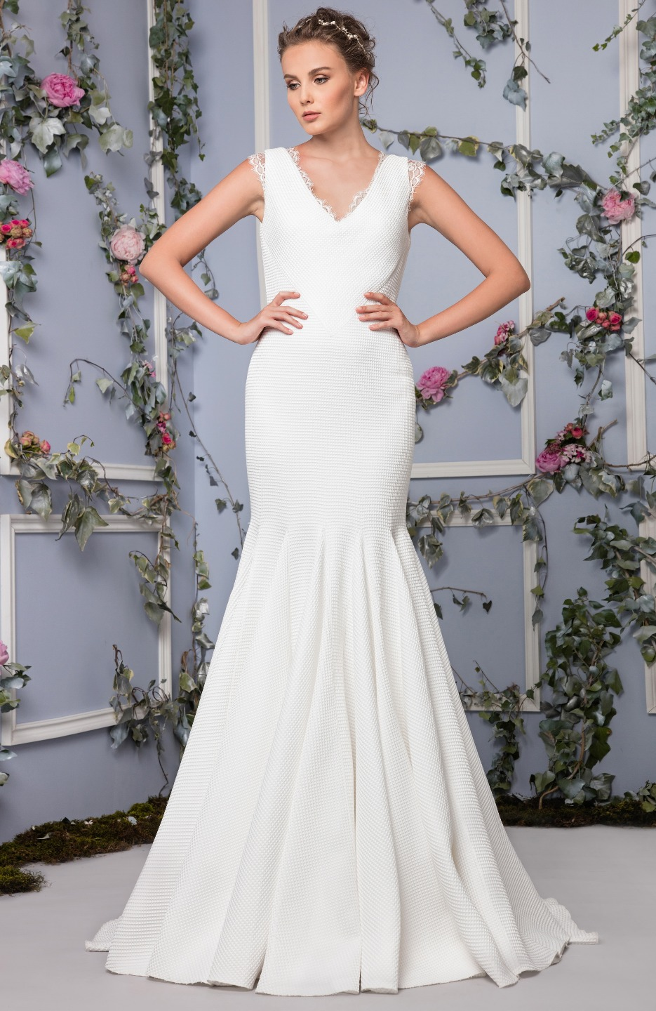 Romantic Fit and Flare Wedding Dress | Kleinfeld Bridal