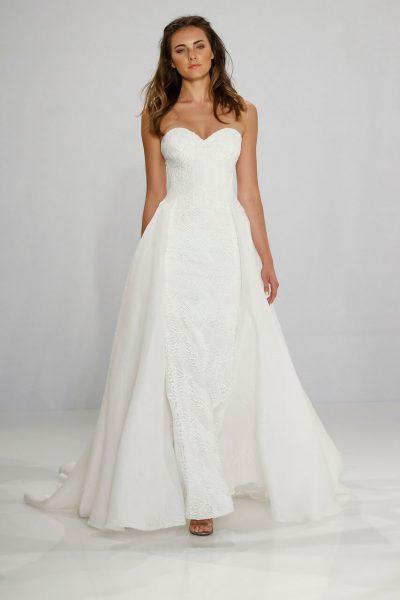 Sheath Wedding Dress by Tony Ward - Image 1