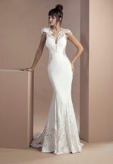 Simple Sheath Wedding Dress by Tony Ward - Image 1