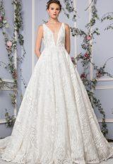 Simple A-line Wedding Dress by Tony Ward - Image 1