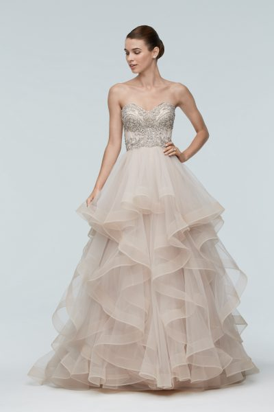 A-Line Wedding Dress by Watters - Image 1