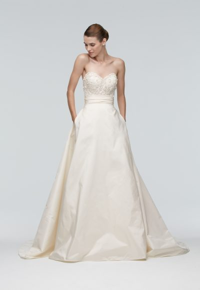 A-Line Wedding Dress by Watters