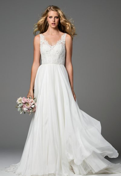 Classic A-line Wedding Dress by Watters