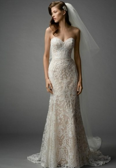 Fit And Flare Wedding Dress by Watters
