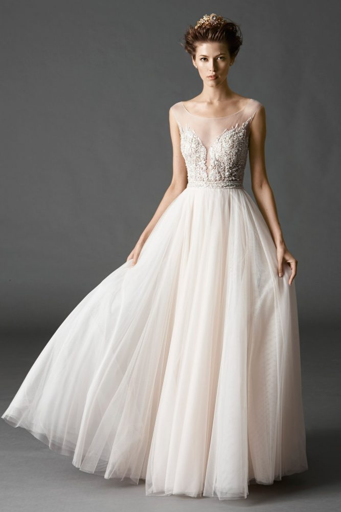 Romantic A-line Wedding Dress - Image 1