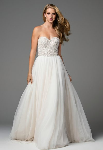 Romantic A-line Wedding Dress by Watters