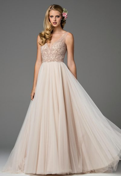 Romantic Ball Gown Wedding Dress by Watters