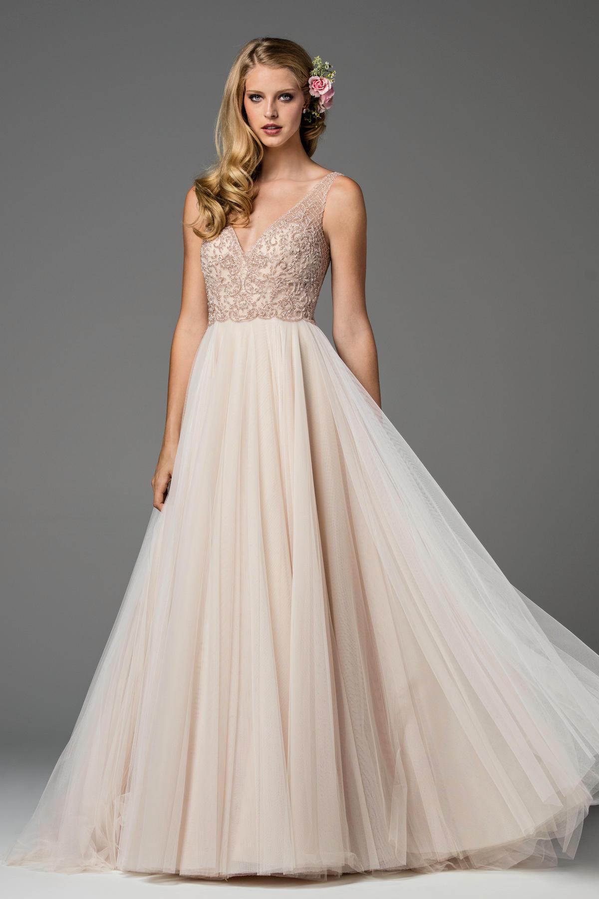 Romantic ball gown wedding dress kleinfeld bridal junglespirit Images
