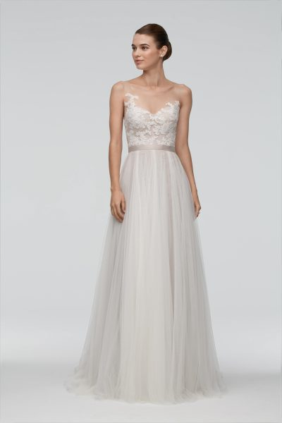 Sheath Wedding Dress by Watters - Image 1