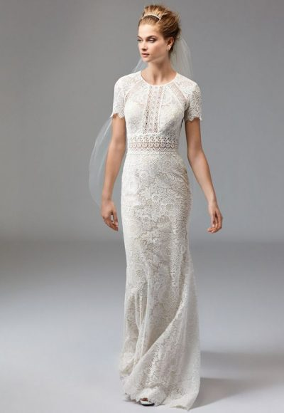 Sheath Wedding Dress by Watters