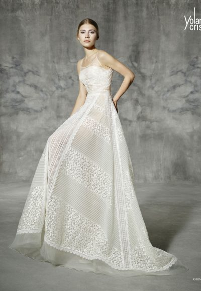 A-Line Wedding Dress by Yolan Cris