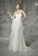 A-Line Wedding Dress by Yolan Cris - Image 1