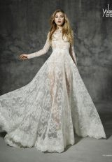 A-Line Wedding Dress by Yolan Cris - Image 1