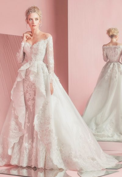 Couture Ball Gown Wedding Dress by Zuhair Murad
