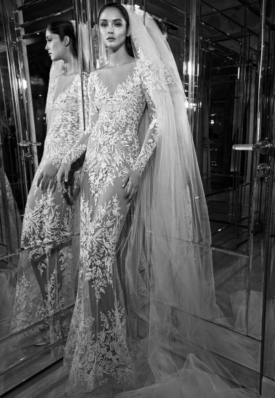 Couture Sheath Wedding Dress by Zuhair Murad