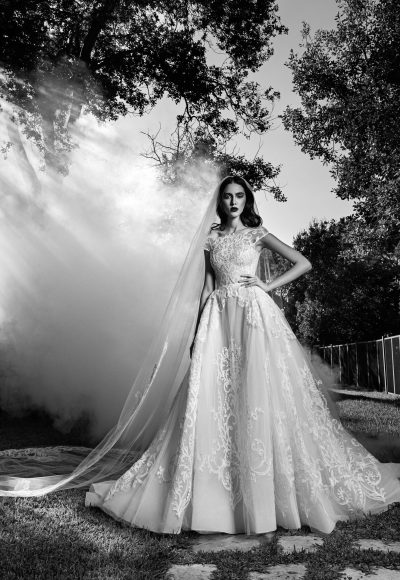 Romantic Ball Gown Wedding Dress by Zuhair Murad
