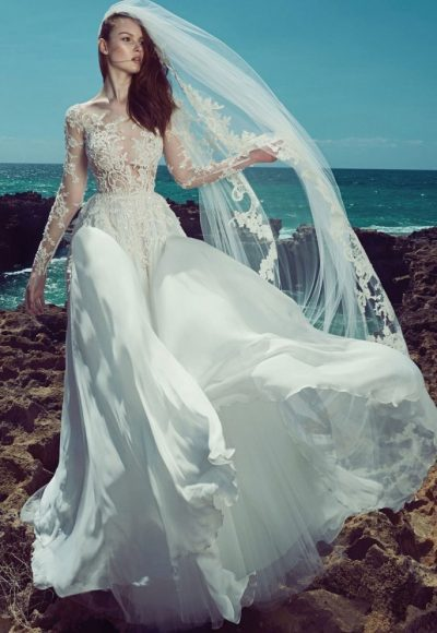 Sexy Ball Gown Wedding Dress by Zuhair Murad