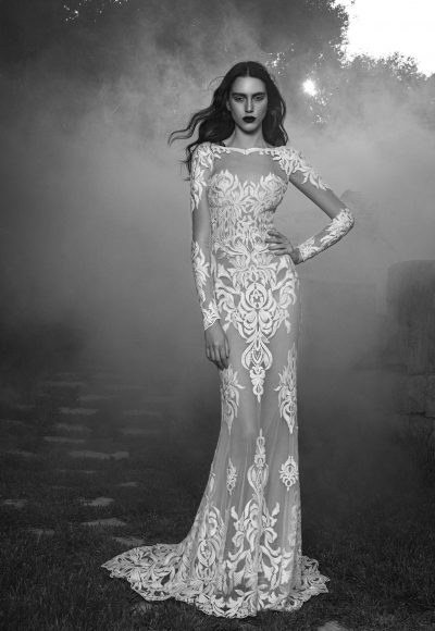 Sexy Sheath Wedding Dress by Zuhair Murad