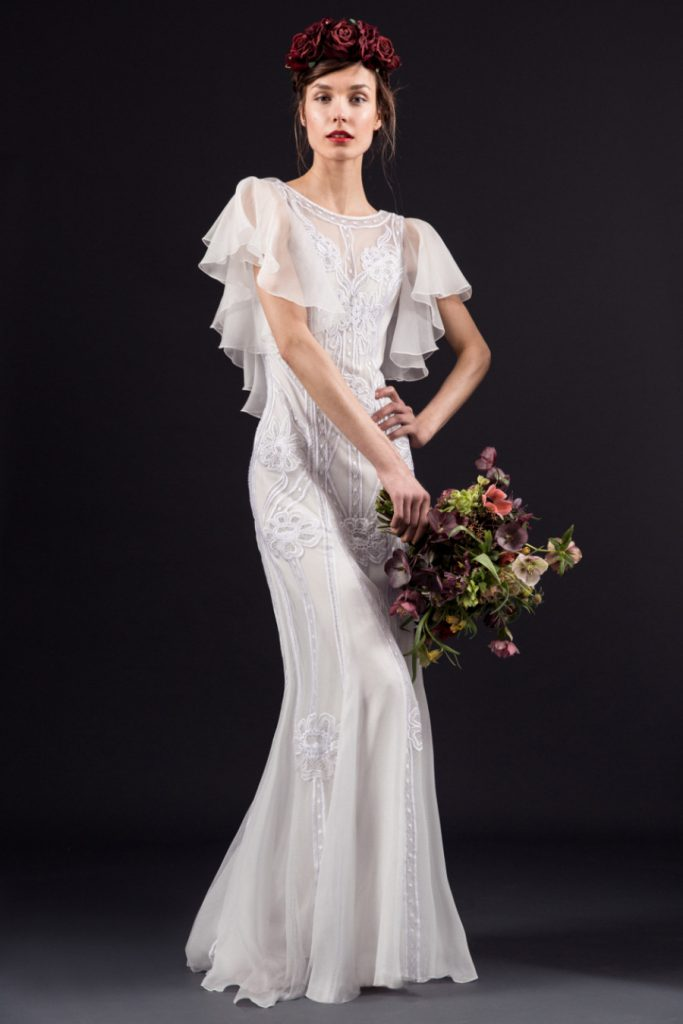 Temperly London sheath gown