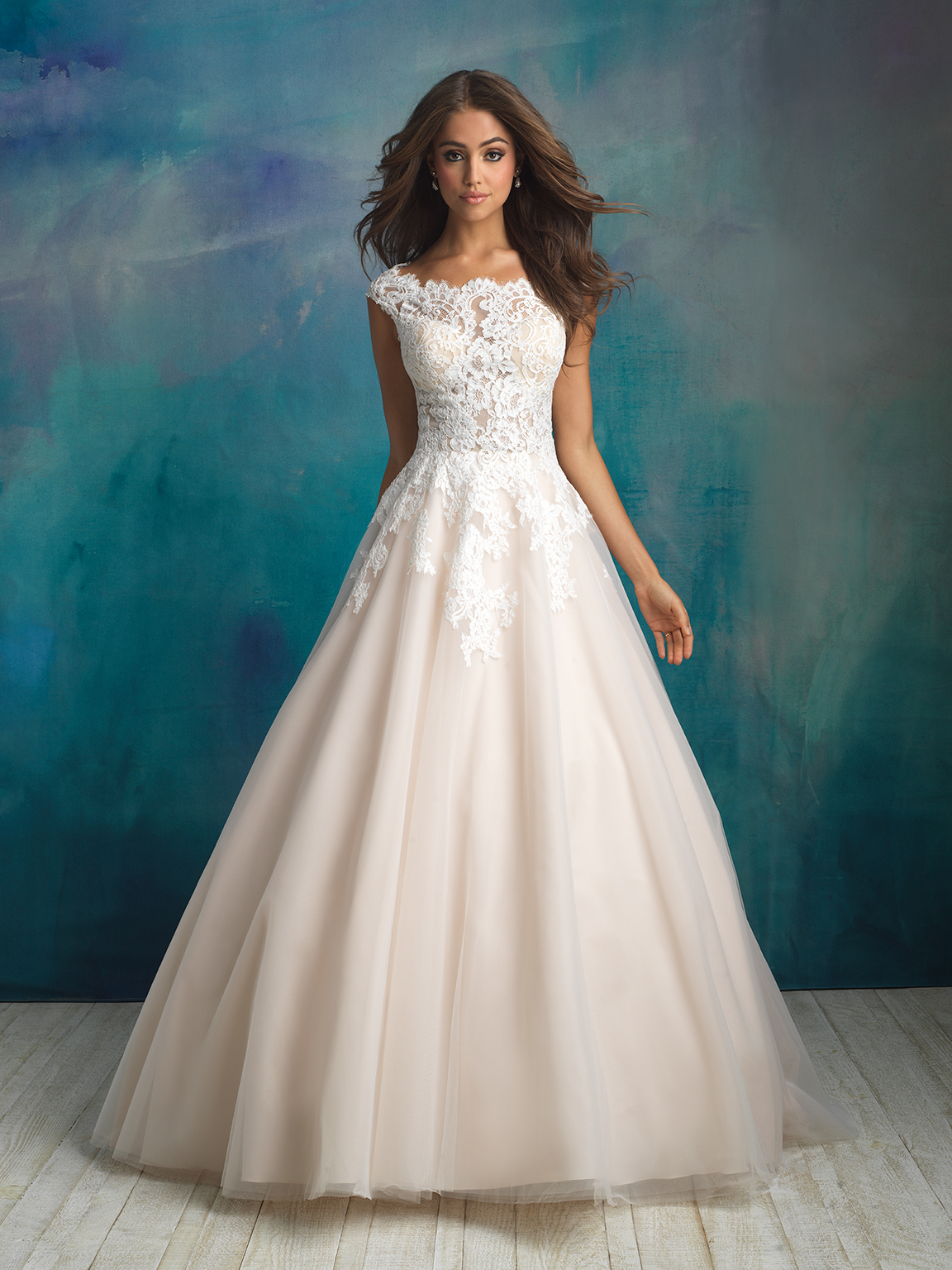 Style 14584A 33709684 Classic Ballgown Wedding Dress By Allure Bridals