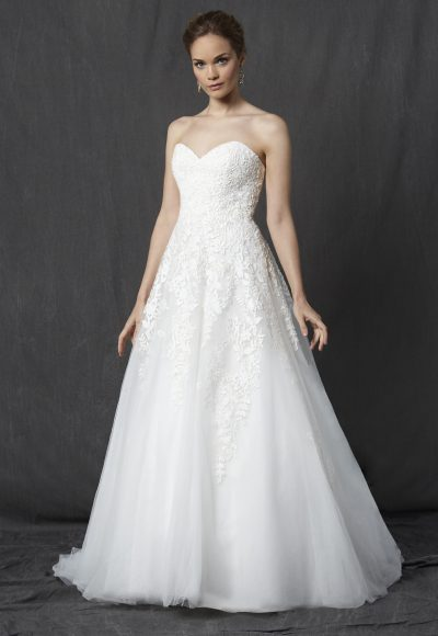 Romantic A-line Dress by Michelle Roth